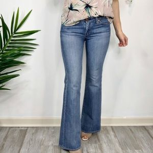 """AG ADRIANO GOLDSCHMIED """"The Club"""" flared jeans 895"""